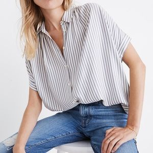 Madewell Central Shirt in Stripe